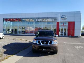 Used 2013 Nissan Armada Platinum 1 OWNER LOCAL TRADE for sale in Belleville, ON