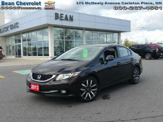 Used 2013 Honda Civic Sedan Touring for sale in Carleton Place, ON
