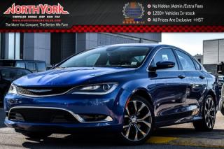 Used 2016 Chrysler 200 C|DualPaneSunroof|Nav.|Backup_Cam|Leather|HeatSeats|19