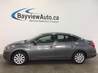 Used 2016 Nissan Sentra S- AUTO! 1.8L! SPORT MODE! A/C! BLUETOOTH! CRUISE! for sale in Belleville, ON