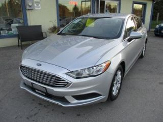 Used 2017 Ford Fusion POWER EQUIPPED SE MODEL 5 PASSENGER 2.5L - DOHC.. FACTORY WARRANTY.. CD/USB INPUT.. BACK-UP CAMERA.. KEYLESS ENTRY & START.. for sale in Bradford, ON