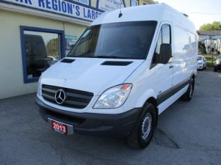 Used 2013 Mercedes-Benz Sprinter 3/4 TON WORK READY CARGO MOVER 3 PASSENGER 3.0L - DIESEL.. BACK-UP CAMERA.. SLIDING MIDDLE DOOR.. 144 INCH WHEEL BASE.. TRAILER BRAKE.. for sale in Bradford, ON
