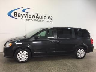 Used 2015 Dodge Grand Caravan SE- ALLOYS|STOW 'N GO| for sale in Belleville, ON
