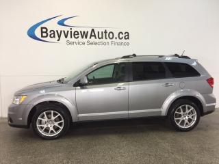 Used 2017 Dodge Journey GT- AWD|REM STRT|PUSH BTN START|HTD LTHR|ALPINE! for sale in Belleville, ON