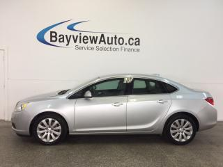 Used 2017 Buick Verano - 2.4L! ALLOYS! A/C! ON STAR! CRUISE! for sale in Belleville, ON
