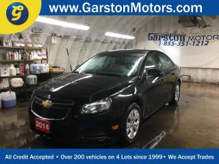 Used 2014 Chevrolet Cruze LS*KEYLESS ENTRY*CLIMATE CONTROL*TRACTION CONTROL*AM/FM/XM/CD/AUX*ON STAR* for sale in Cambridge, ON