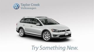 New 2018 Volkswagen Golf Alltrack 1.8T DSG 6sp at w/Tip 4MOTION for sale in Orleans, ON