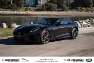 Used 2017 Jaguar F-Type Coupe SVR AWD for sale in Vancouver, BC
