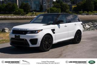 Used 2017 Land Rover Range Rover Sport V8 Supercharged SVR *Rare - DEMO SALE! for sale in Vancouver, BC
