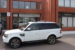 Used 2013 Land Rover Range Rover Sport Supercharged for sale in Woodbridge, ON