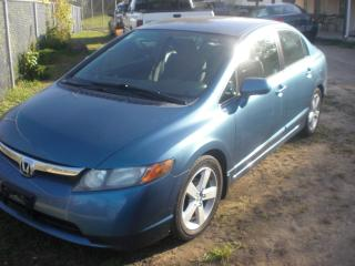 Used 2008 Honda Civic LX  AUTOMATIC for sale in Mansfield, ON