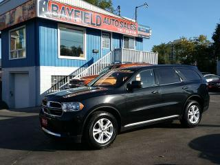 Used 2013 Dodge Durango SXT AWD **7 Passenger/Only 78k** for sale in Barrie, ON