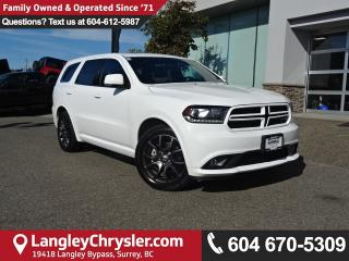 Used 2017 Dodge Durango *ACCIDENT FREE * DEALER INSPECTED * CERTIFIED * for sale in Surrey, BC