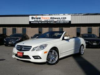 Used 2011 Mercedes-Benz E-Class E 350 CONVERTIBLE **AMG APPEARANCE PKG** for sale in Gloucester, ON