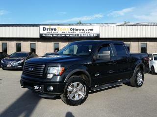 Used 2011 Ford F-150 FX4 CREW 4X4 **NAV/LEATHER/ROOF** for sale in Gloucester, ON