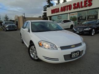 Used 2012 Chevrolet Impala AUTO 4DR P WINDOWS  LOCKS A/C ALLOY  NO ACCIDET for sale in Oakville, ON