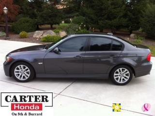 Used 2006 BMW 325 i + LOCAL + LOW KMS + SUNROOF! for sale in Vancouver, BC