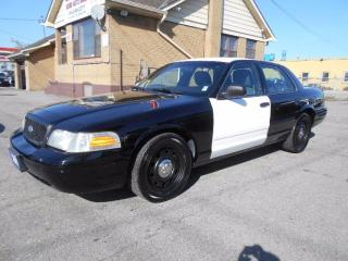 Used 2011 Ford Crown Victoria P71 Police Interceptor 4.6L V8 ONLY 123,000KMs for sale in Etobicoke, ON