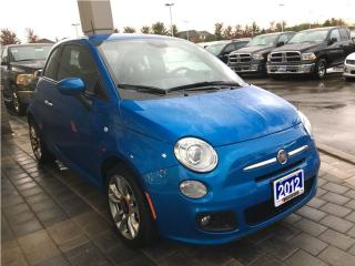 Used 2015 Fiat 500 SPORT**BLUETOOTH**HEATED SEATS** for sale in Mississauga, ON