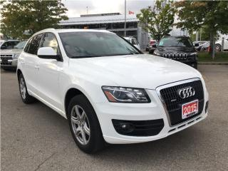 Used 2012 Audi Q5 2.0T Premium**LEATHER**SUNROOF** for sale in Mississauga, ON