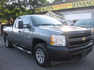 Used 2009 Chevrolet Silverado 1500 WT AC 5.3L V8 Short box Extended Cab for sale in Ottawa, ON
