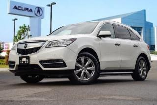 Used 2015 Acura MDX Elite at Running Boards|NEW Tires|Bluetooth|Naviga for sale in Thornhill, ON
