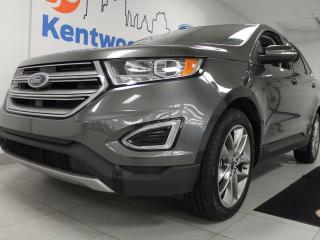 Used 2015 Ford Edge Titanium AWD with NAV, back up cam, heated/cooled front seats AND heated back seats, power liftgate, keyless entry! for sale in Edmonton, AB