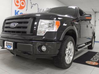 Used 2010 Ford F-150 FX4 5.4L V8. It may not have NAV YET, but its got heated power leather seats, back up cam, and a sunroof to make up for it! for sale in Edmonton, AB