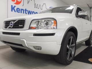Used 2014 Volvo XC90 XC90 AWD with sunroof, power leather seats, back up cam and entertainment for the backseat. Keep everyone happy. for sale in Edmonton, AB