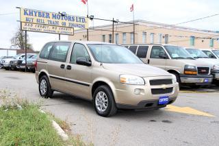 Used 2005 Chevrolet Uplander Value for sale in Brampton, ON