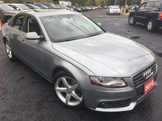 Used 2010 Audi A4 2.0TPREMIUM/AUTO/NAVI/BACKUP CAMERA/ALLOYS/SUNROOF for sale in Scarborough, ON