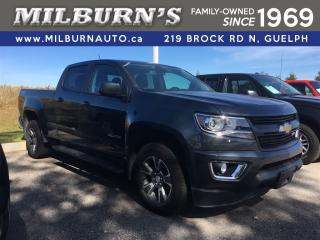 Used 2017 Chevrolet Colorado 4WD Z71 for sale in Guelph, ON