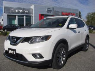 Used 2015 Nissan Rogue SL for sale in Timmins, ON