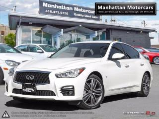 Used 2014 Infiniti Q50 SPORT AWD |WARRANTY|NAV|PHONE|CAMERA|1OWNER for sale in Scarborough, ON