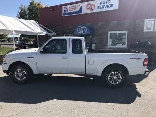Used 2008 Ford Ranger SuperCab Sport 4X4 Auto & AC for sale in Kingston, ON