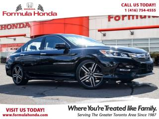 Used 2016 Honda Accord Sedan SPORT | HEATED SEATS | REAR-VIEW CAMERA for sale in Scarborough, ON