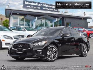 Used 2015 Infiniti Q50 LIMITED AWD |WARRANTY|NAV|PHONE|CAMERA|44000KM for sale in Scarborough, ON
