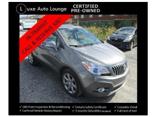 Used 2014 Buick Encore Leather AWD-NAVIGATION-SUNROOF-HEATED SEATS! for sale in Orleans, ON