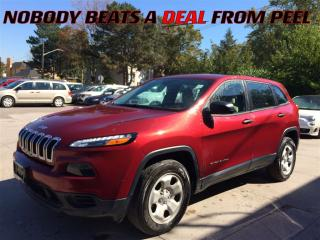 Used 2015 Jeep Cherokee Sport**BLUETOOTH**HTD SEATS**BACK-UP CAM** for sale in Mississauga, ON