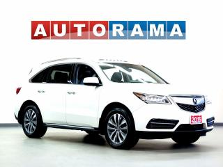 Used 2015 Acura MDX TECH PKG NAVIGATION LEATHER SUNROOF 4WD 7 PASS for sale in North York, ON