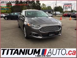 Used 2013 Ford Fusion SE 2.0L+GPS+Camera & Sensor+Sunroof+Heated Leather for sale in London, ON