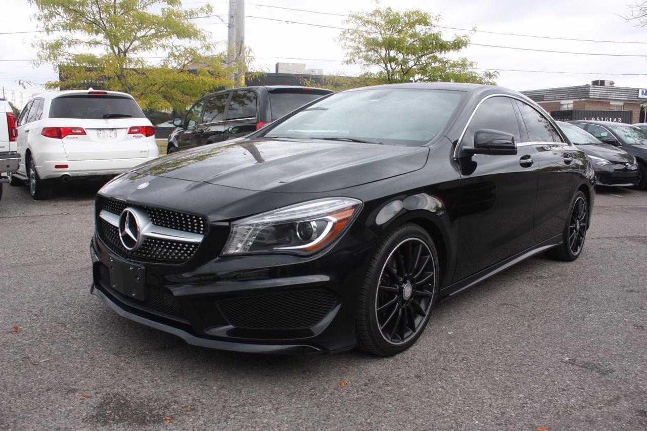 Photo of Black 2014 Mercedes-Benz CLA250