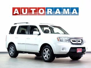 Used 2011 Honda Pilot TOURING PKG NAVIGATION LEATHER SUNROOF 4WD 8 PASS for sale in North York, ON