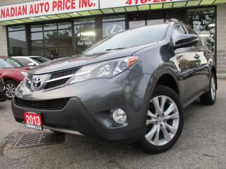 Used 2013 Toyota RAV4 LIMITED- AWD-LEATHER-NAV-CAMERA-ROOF-HEATED for sale in Scarborough, ON