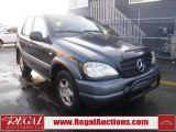 Photo of Black 1999 Mercedes-Benz M-CLASS  4D UTILITY 4WD