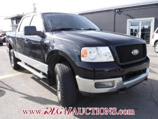 Used 2005 Ford F150 XLT SUPERCREW for sale in Calgary, AB
