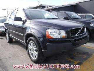 Used 2006 Volvo XC90  4D UTILITY 2.5T for sale in Calgary, AB