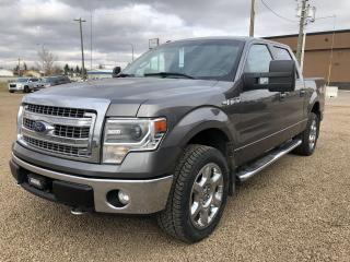 Used 2014 Ford F-150 XLT SUPERCREW 5.5-FT for sale in Stettler, AB