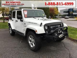 Used 2014 Jeep Wrangler Unlimited Sahara for sale in Richmond, BC