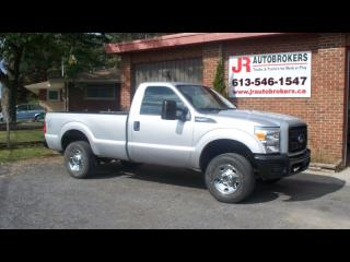 Used 2014 Ford F-250 Super Duty XL 4X4 Reg Cab Long Box 6.2L Work Truck for sale in Elginburg, ON